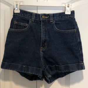 ❤️Loved America Apparel high Waited Jean shorts 26